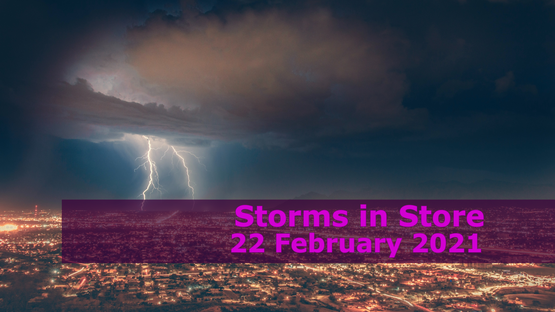 <span class='p-name'>Storms in Store — 22 February 2021 Devotional</span>