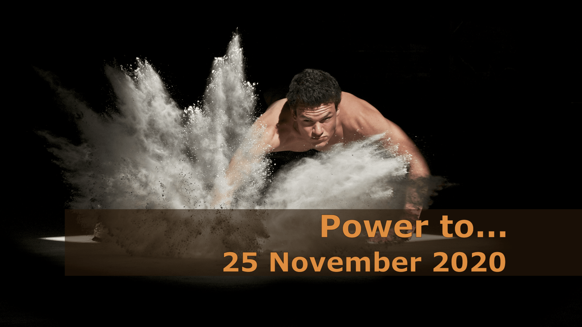 <span class='p-name'>Power to… — 25 November 2020 Devotional</span>